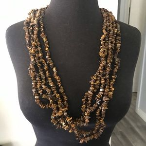 Jewelry - 5 strands tigers eye necklaces